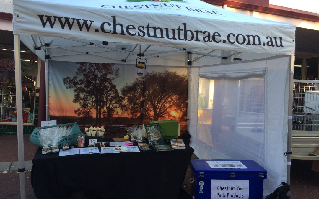 Chestnut Brae at Growers Green this weekend