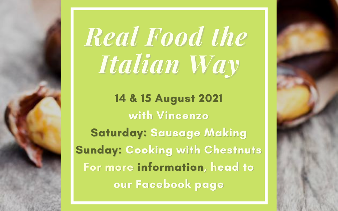 Real Food ~ The Italian Way in August 2021